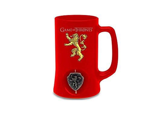Juego de Tronos Jarra de cerveza 3D Rotating Lannister Black