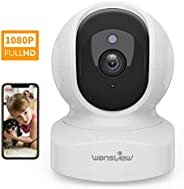 Home Camera, Wireless Security Camera 1080P HD Wansview, WiFi IP Camera for Pet/Baby/Nanny, Motion Detection,