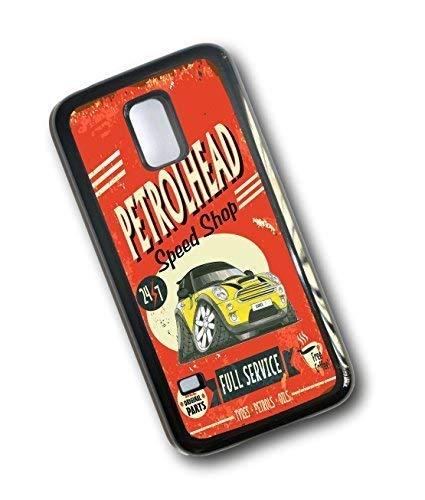 Koolart petrolhead SPEED SHOP DESIGN PER YELLOW BMW MINI COOPER S Custodia resistente per Samsung Galaxy S5 MINI (S5 MINI)