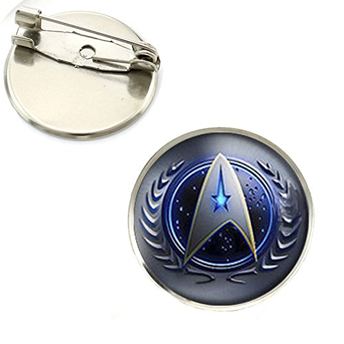 Star Trek Klassisch Kommandant Cosplay Metall Pin Badge