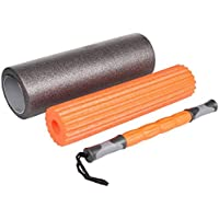 Mobility Tools - Rodillo de Espuma 3 en 1 para Masaje Muscular de Tejidos Profundos, Terapia de Puntos de activación, liberación miofascial, Rodillo Muscular para Fitness, Crossfit, Yoga y Pilates