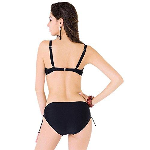 Split Print Badeanzug Bikini Weiblich 1