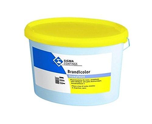 Sigma brandicolor parete e a soffitto colore vernice di Emulsione per interni bianco puro stumpf (Emulsione Di Vernice)