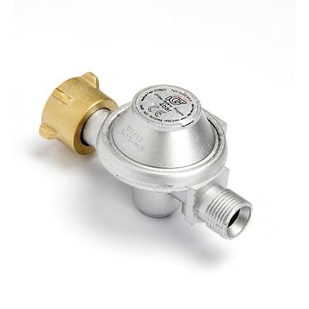 GLORIA Druckminderer für Thermoflamm bio Professional, Druckminderer Gas, Gasdruckminderer, für Gasschlauch
