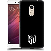 Official Atletico Madrid Black And White 2017/18 Crest Hard Back Case for Xiaomi Redmi Note 4