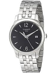 Tissot Damen-Armbanduhr Analog Quarz Edelstahl T063.210.11.057.00