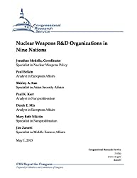 Nuclear Weapons R&D Organizations in Nine Nations (English Edition)