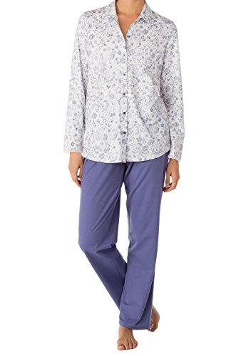 Calida Cuba Pyjama durchgeknöpft Damen blue-style