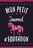 Mon Petit Journal d'Equitation: Petit Carnet d'équitation pour Jeunes Cavalières (7-10 ans) |  17,78 x 25,4 cm, 127 pages | Cadeau pour fanas de Cheval