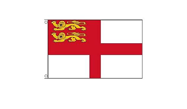 Fahne Flagge Guernsey 90 x 150 cm