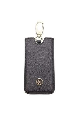 V5V56A312 Armani Jeans Cell Phone Cases Men PVC Black