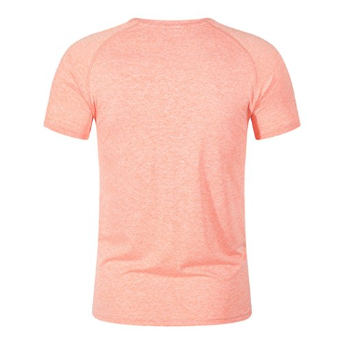 MTTROLI Herren T-Shirt Orange