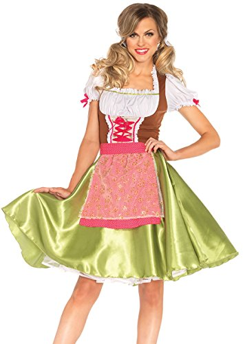 Leg Avenue 85508 - Darling Greta Kostüm, Größe Medium (EUR 38) -
