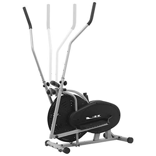 ISE Vélo Elliptique et Vélo d'Appartement 2 en 1, Entraînement Cardio et Fitness - Sécurité testée -Max. 120KG, SY-9000