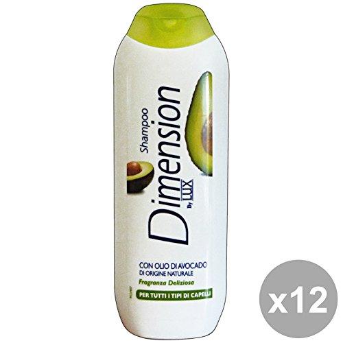 Set 12 DIMenSION Shampoo 1-1 Olio Di AVOCADO 250 Ml. Prodotti per capelli
