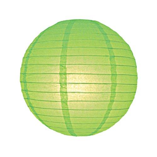 6712-LL 30cm luz verde linterna papel pantalla lámpara