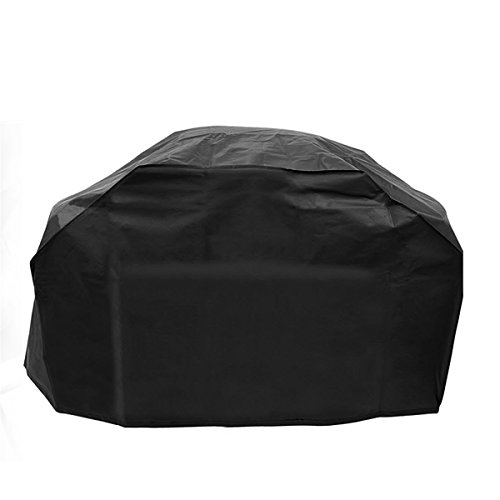 BBQ Grill Cover 57-Inch Durable Polyester Waterproof Barbecue Gas Grill Cover Protector for Weber, Brinkmann, Holland, Char Broil and Jenn Air (Grill Cover)