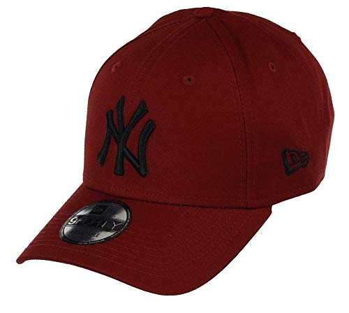 New Era 9FORTY MLB League Essential New York Yankees Cap rot/schwarz, OneSize
