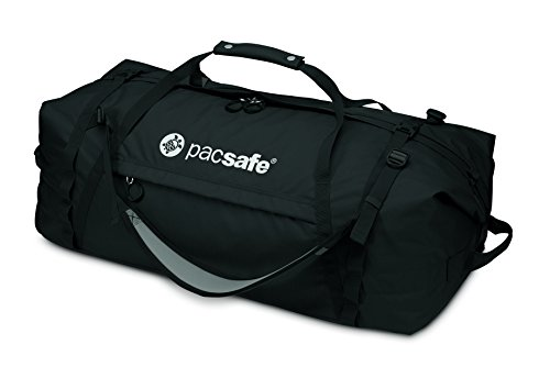 Pacsafe DuffelSafe AT45 anti-theftcarry-on Duffel Bag, schwarz (schwarz) - 22100 schwarz