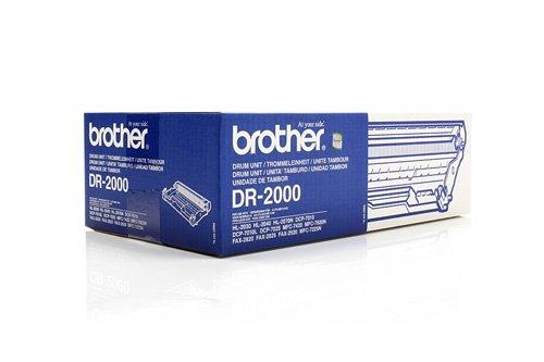 Original Brother DR-2000 /, für Fax 2820 Premium Trommel, Farblos, 12000 Seiten -