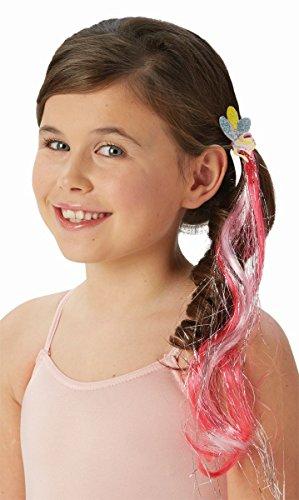 My little Pony Pinkie Pie Haargummi mit Haarsträhne Karneval (Pinkie Pie My Little Pony Halloween Kostüm)