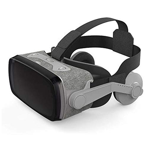 PXYUAN VR-Brille, Virtual-Reality-Headset, 3D IMAX-Film- / Game-Viewer, VR-Brille mit Virtual-Reality-Brille Kompatibel mit iOS, Android und Anderen Handys innerhalb von 4,7-6,0 Zoll-Grey