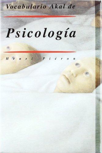 Vocabulario Akal de Psicología (Diccionarios)