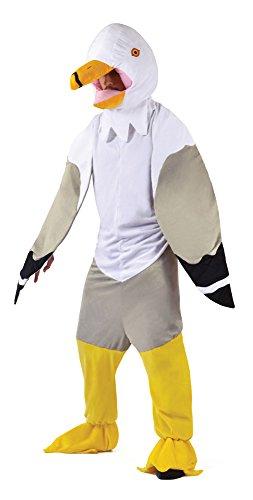 0Big Head Möve Kostüm, Blumenkasten Brust Größe (Maskottchen Kostüm Fancy Kleid)