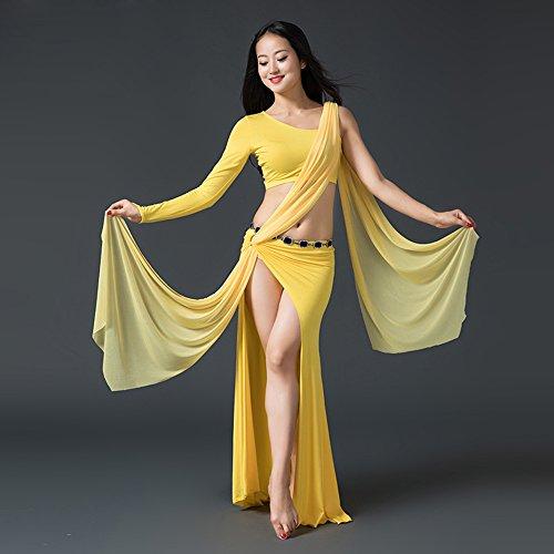Wanson Professionelle Frauen Bauchtanz Kleid Bauchtanz Praxis Kleid Latin Dance Kostüm Indischen Tanz Performance Kostüm