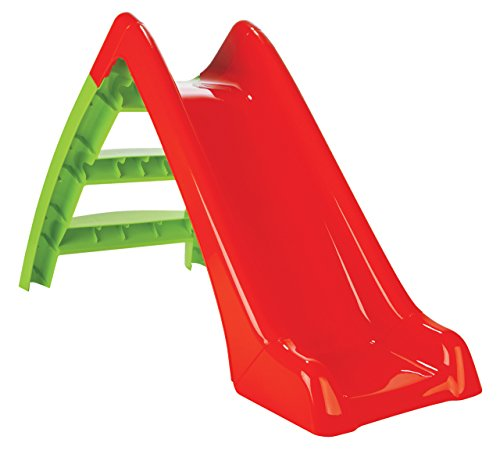 Jamara 460265 Kinderrutsche Happy Slide – Indoor- Outdoor Geeignet, Handliche Größe, Leichte Montage
