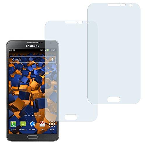 mumbi Schutzfolie kompatibel mit Samsung Galaxy Note 3 Folie klar, Bildschirmschutzfolie (2x)