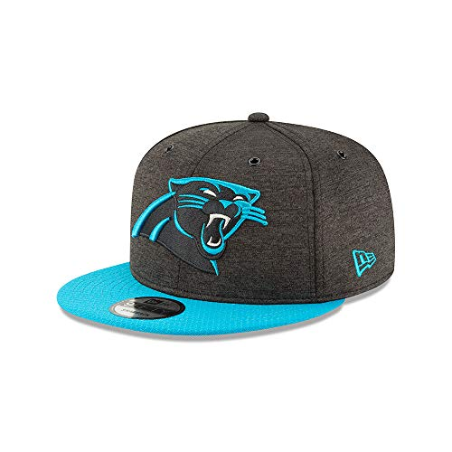 Panthers Authentic 2018 Sideline 9FIFTY Snapback Home Cap, Black & Teal, M - L ()
