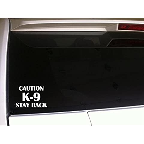 Caution K-9-Stay