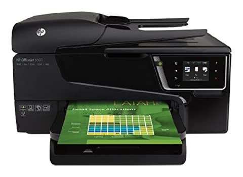 HP Officejet 6600 e-All-in-One Tintenstrahl Multifunktionsdrucker (A4, Drucker, Scanner, Kopierer, Fax, Dokumentenecht, Wlan, USB, (Scanner A4 Lan)