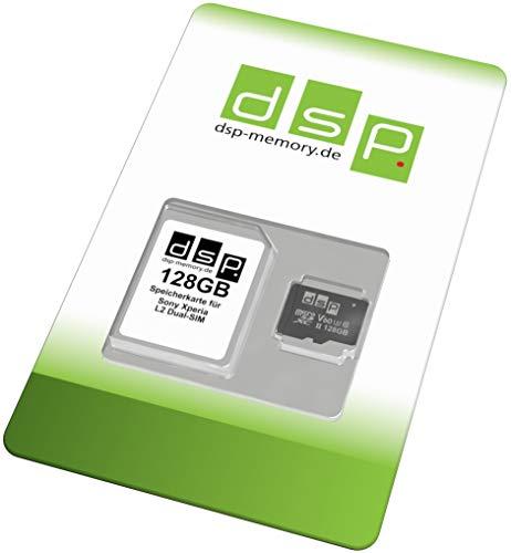 Preisvergleich Produktbild 128GB Speicherkarte (UHS-II V60) für Sony Xperia L2 Dual-SIM