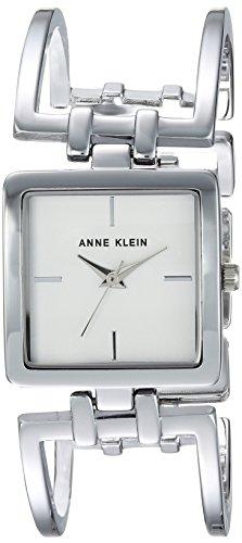 Anne Klein Women's AK-2893SVSV Silver Stainless-Steel Japanese Quartz Fashion Watch