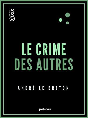 Couverture du livre Le Crime des autres (Policier)