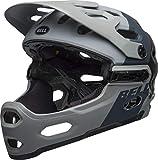 BELL Super 3R MIPS MTB Fahrrad Helm grau/schwarz 2019: Größe: M (55-59cm)