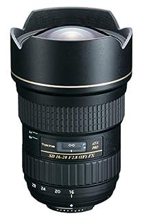 Tokina AT-X Pro 16-28mm f/2.8 FX - Objetivo para Nikon (Distancia Focal 16-28mm, Apertura f/2.8) Color Negro (B003V1YGSW) | Amazon price tracker / tracking, Amazon price history charts, Amazon price watches, Amazon price drop alerts