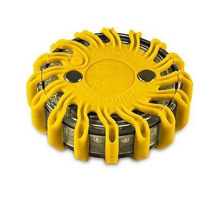 Preisvergleich Produktbild Powerflare LED Akku Warnleuchte in gelb