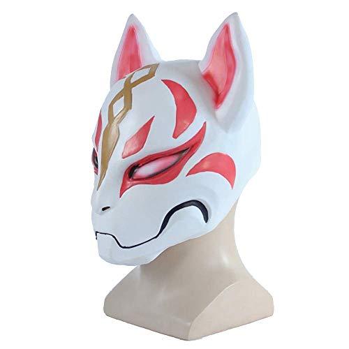 Xiao-masken Cosplay Maske handgemacht Fox Style Vollgesichtsmaske Cosplay Maskeraden Festival Kostüm Party Show Halloween Dress Up Dance