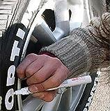 Kugelschreiber Kennzeichnung für Reifen Auto Fahrrad Sport Tuning–Farbe Weiß