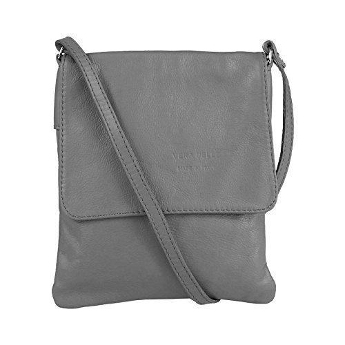 OBC Only-Beautiful-Couture, Borsa a tracolla donna Grigio grigio chiaro 18x22 cm (BxH) grigio