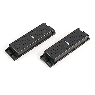 HermosaUKnight 2pcs Original 3.7V 500mAh Lipo Battery for JJRC H47 Drone RC Quadcopter Part the Wifi Drone Battery Accessories-Black