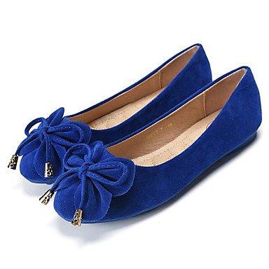 Wuyulunbi@ Scarpe Donna Primavera Autunno Comfort Appartamenti Null / Round Toe Null / di abbigliamento casual kaki rosa fucsia blu viola US6 / EU36 / UK4 / CN36