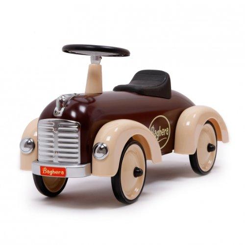 *Baghera 884 – Speedster-Rutscher aus Metall, chocolate 75 x 25 x 37 cm, 1 – 3 Jahre, Rutschauto*