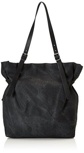 ESPRIT Damen 077ea1o042 Tote, Schwarz (Black), 12x38x32 cm (Chic Handtasche Vintage)