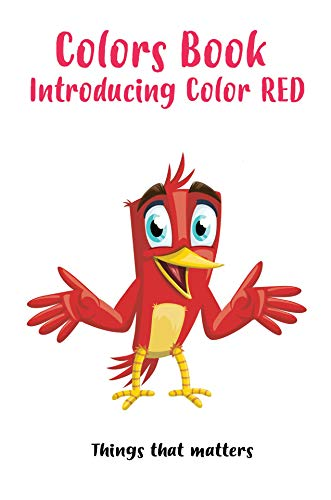 Colors Book: Introducing Color Red (English Edition) eBook: Haggag ...