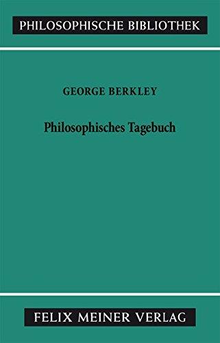 Philosophisches Tagebuch (Philosophische Bibliothek, Band 318)
