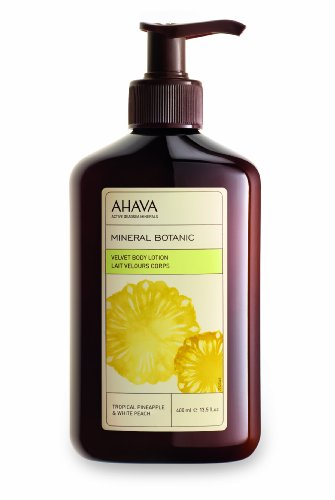 Ahava Body Lotion (AHAVA Mineral Körperlotion Pineapple & White Peach, 400 ml)